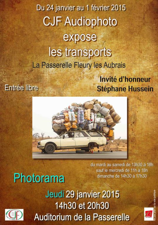 CJF Audiophoto expose les transports